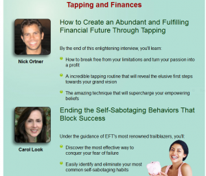 EFT Tapping for Money and Financial Abundance